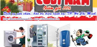 Giảm giá 30% phí sửa chữa bảo trì điện lạnh