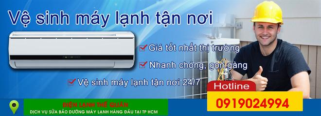 Vệ sinh máy lạnh tại tp hcm