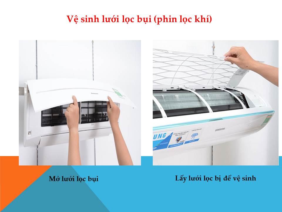 vệ sinh máy lạnh quận 11