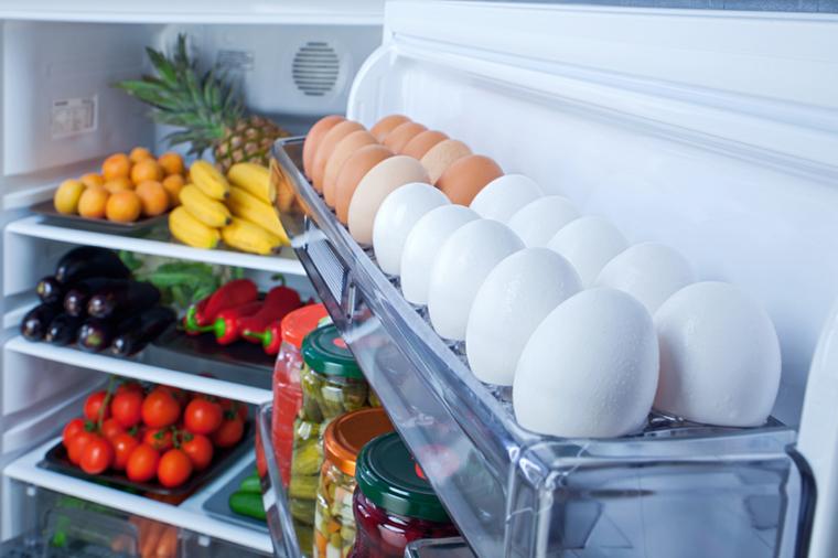 Có nên bảo quản trứng trong tủ lạnh ?